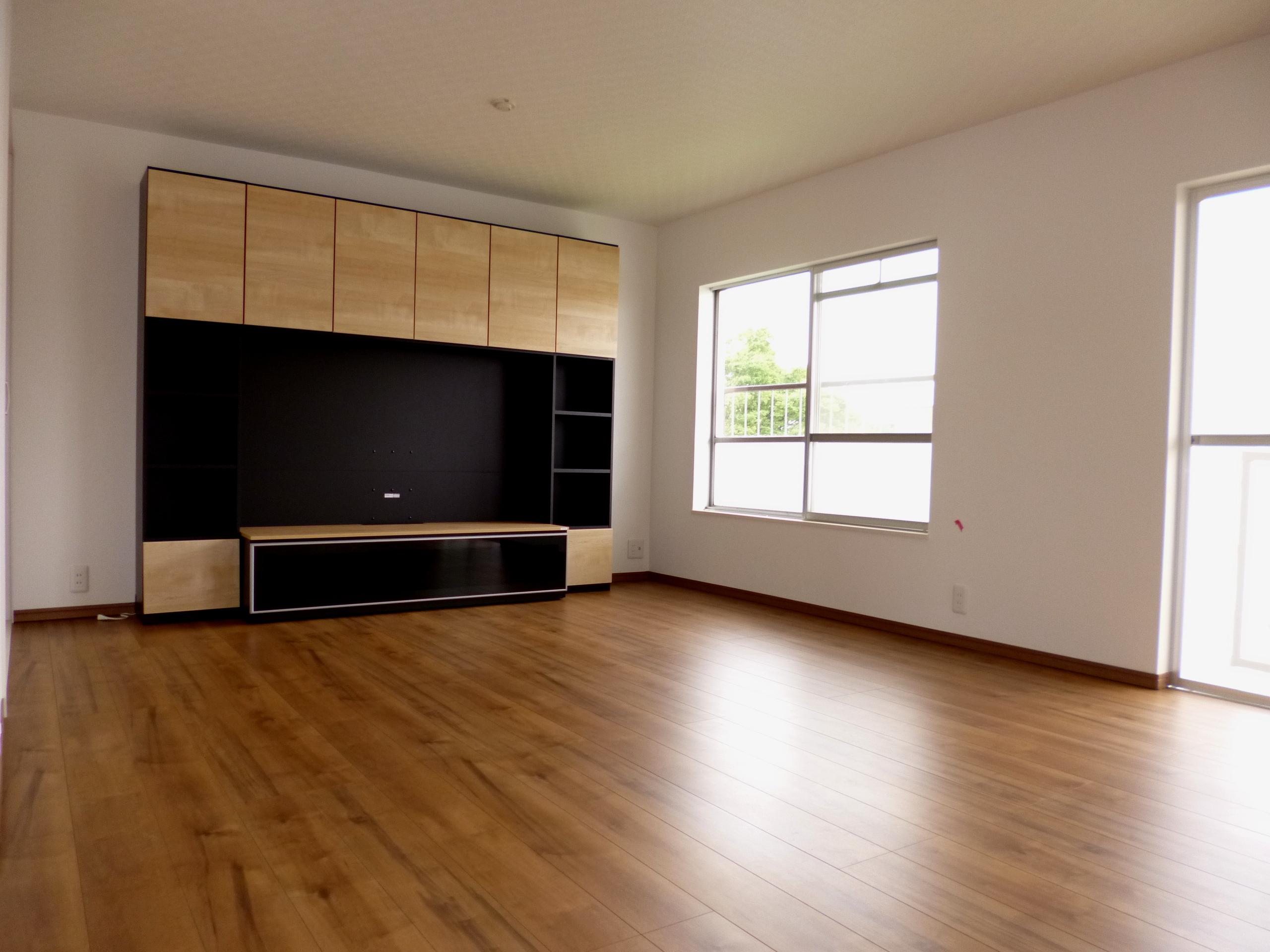 開放的な空間になった後のお部屋の画像です