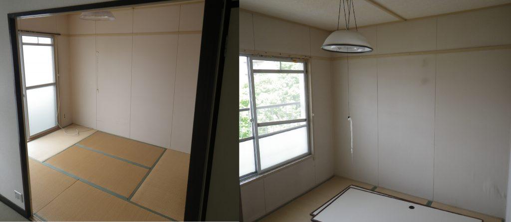 開放的な空間になる前のお部屋のビフォー画像です。
