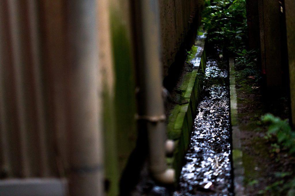 排水溝の画像です