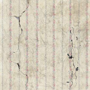 地震によって起こったひび割れ画像