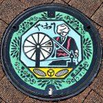 八尾市のマンホール画像