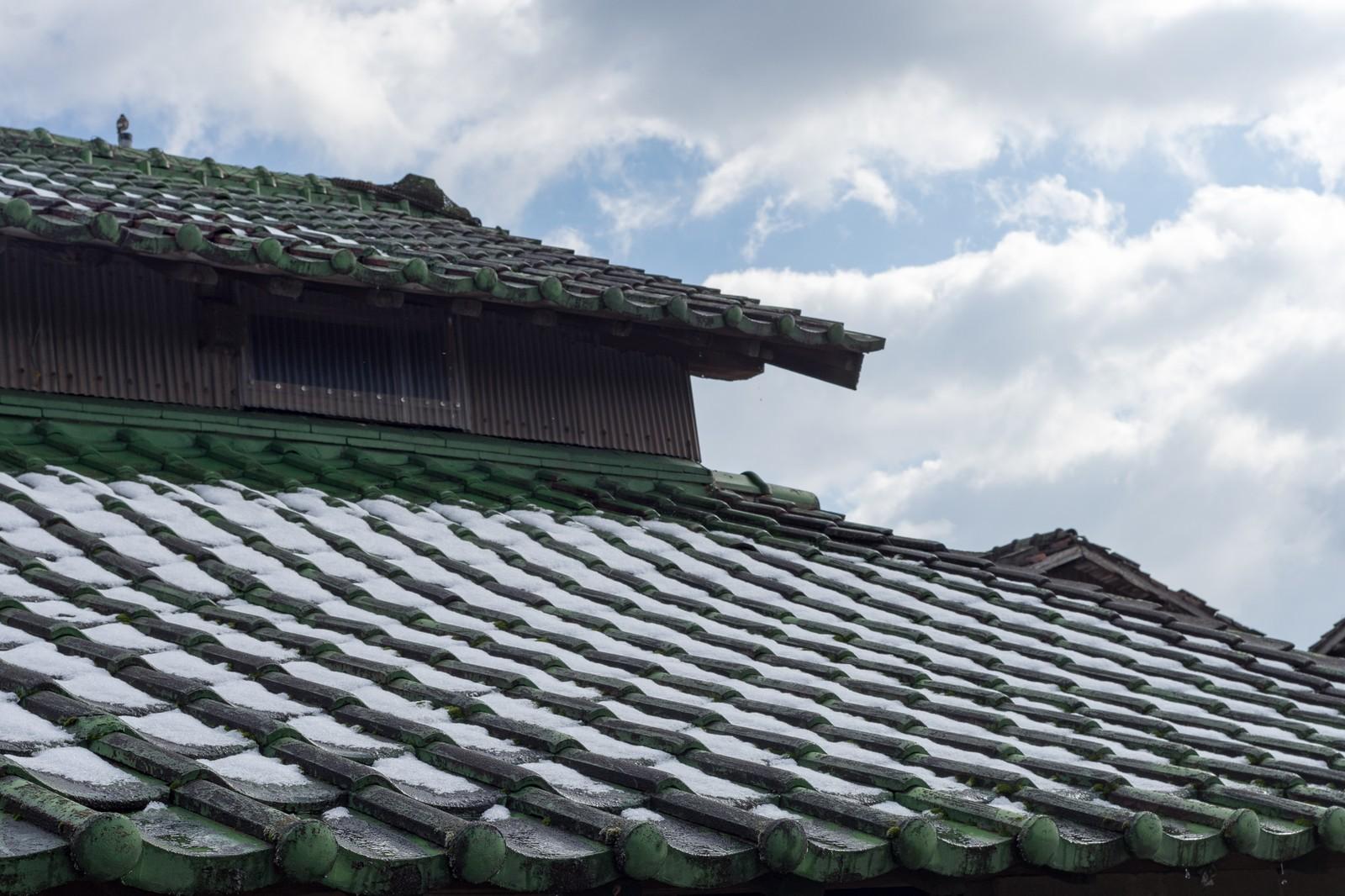 屋根の写真です