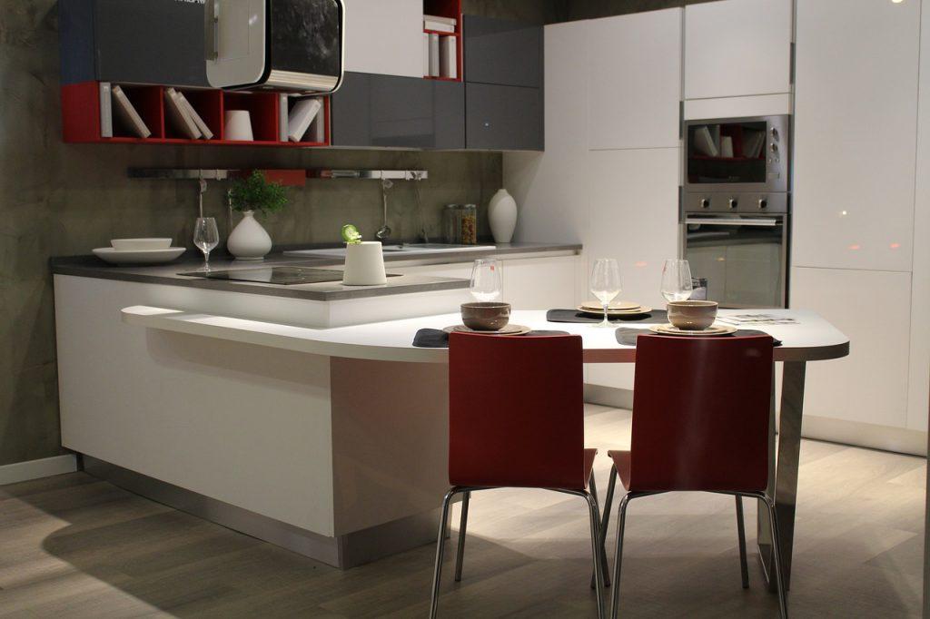 L型キッチンのイメージ画像です。
