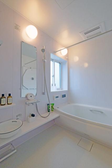 浴室の写真です。