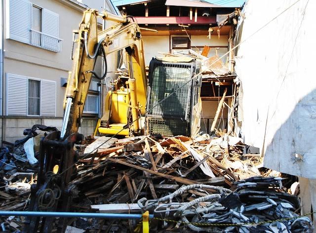建物解体の画像です