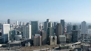 大阪のビル群の画像です