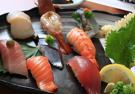 北海素材八尾店のお寿司の画像です
