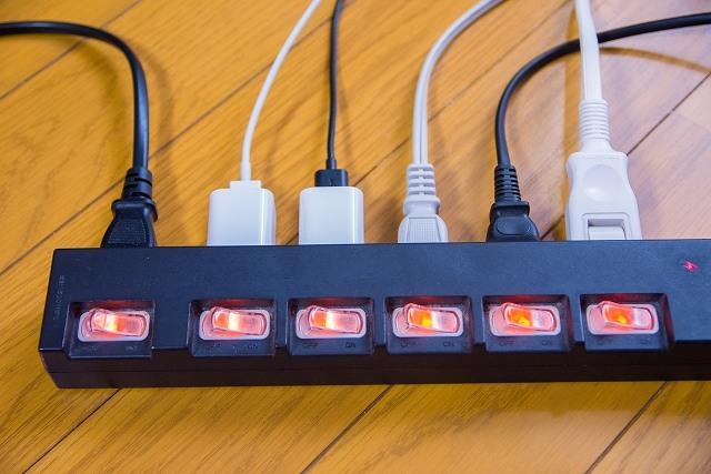 電源タップの画像です