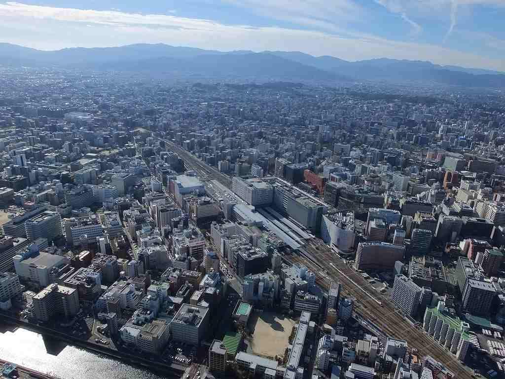福岡市博多駅周辺の画像です