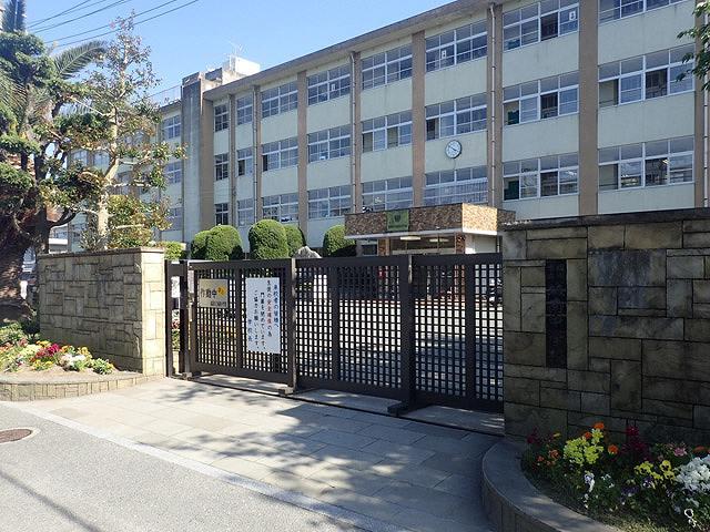 「城南中学校」の画像です