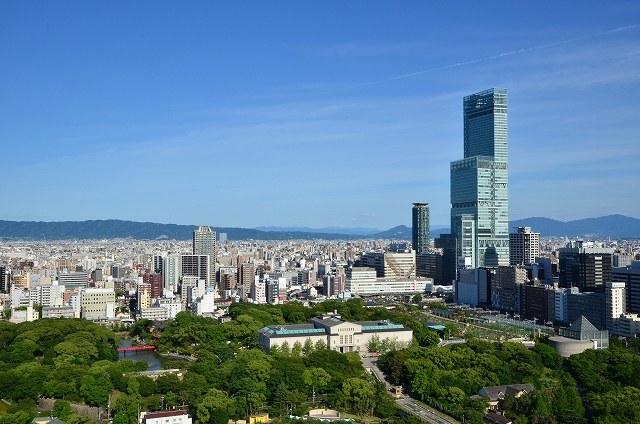 大阪の街の画像です