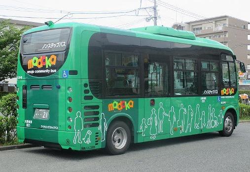 コミュニティバスの画像です