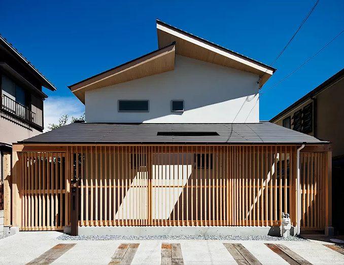和モダンな家の画像です