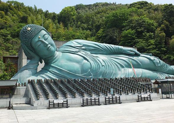 南蔵院 釈迦涅槃像の画像です