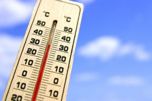 高い気温のイメージ画像です