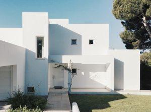 モダンな家の画像です