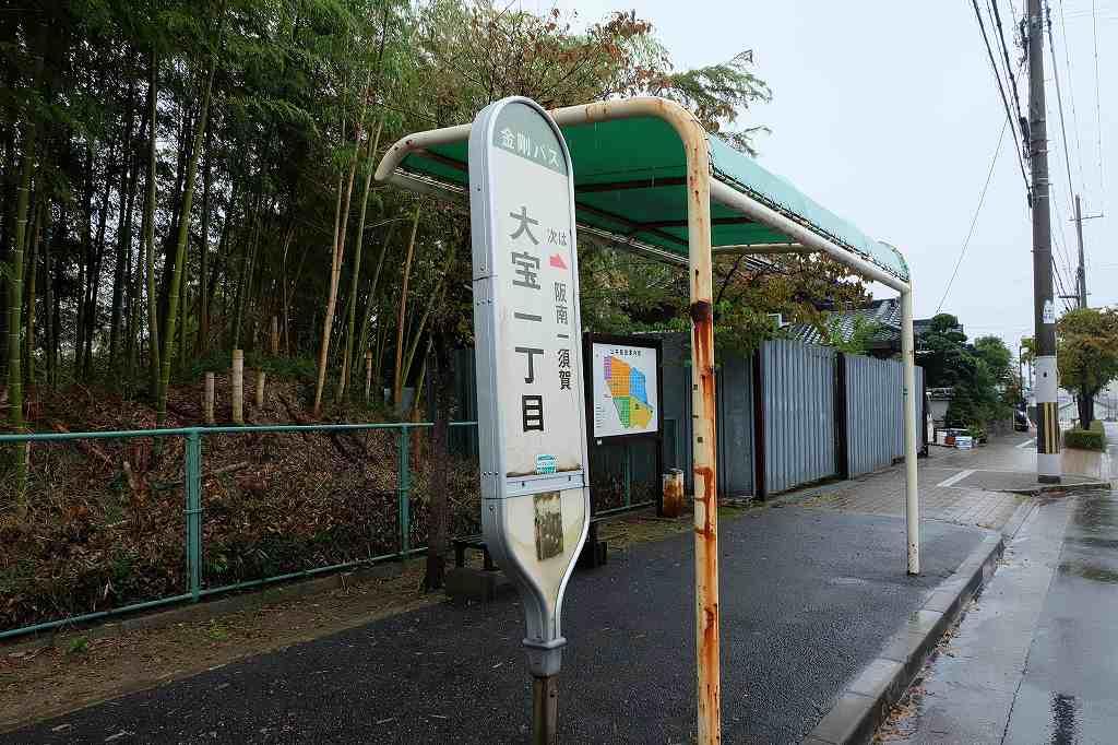 バス停の画像です