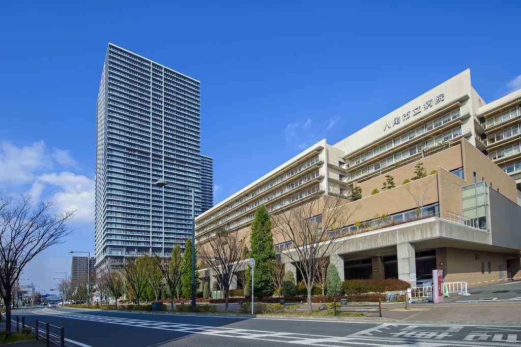 八尾市民病院の画像です