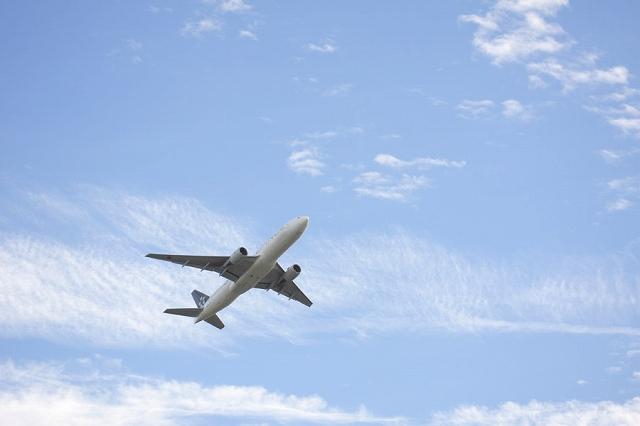 飛行機の画像です