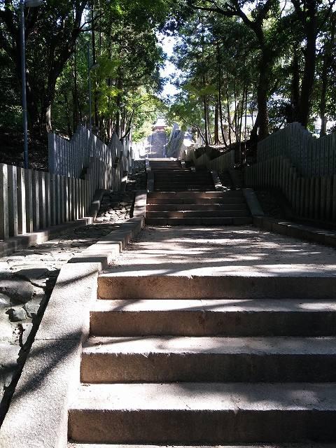 恩智神社石段の画像です