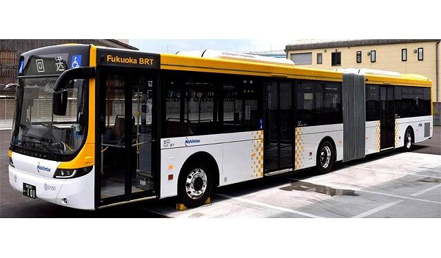 連接バスの画像です