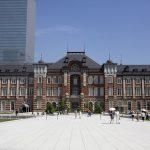 東京駅の画像です