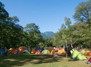 キャンプ場の画像です