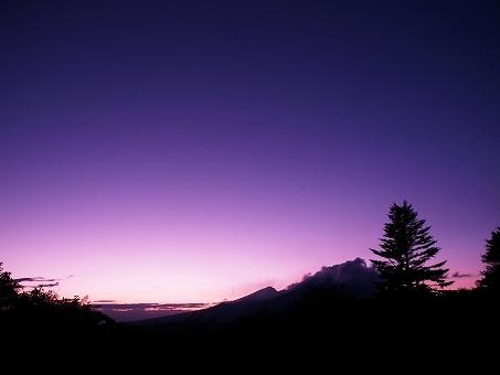 浅間山の画像です