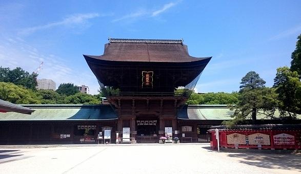 筥崎宮の画像です
