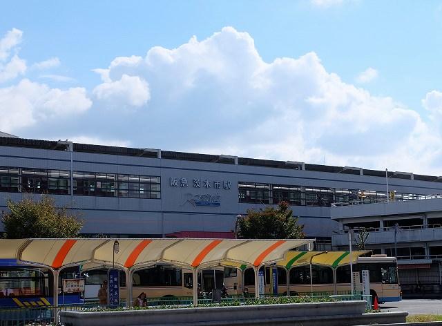 茨木市駅の画像です