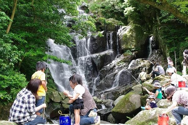 白糸の滝の画像です