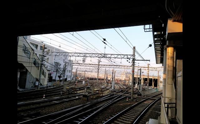 電車庫の画像です