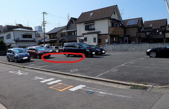 駐車場の画像です