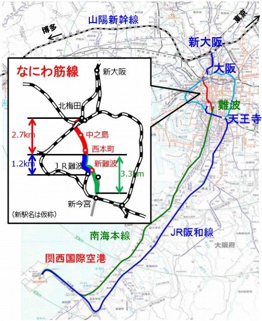 路線図です