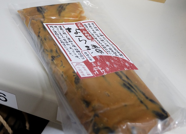 奈良漬けの画像です