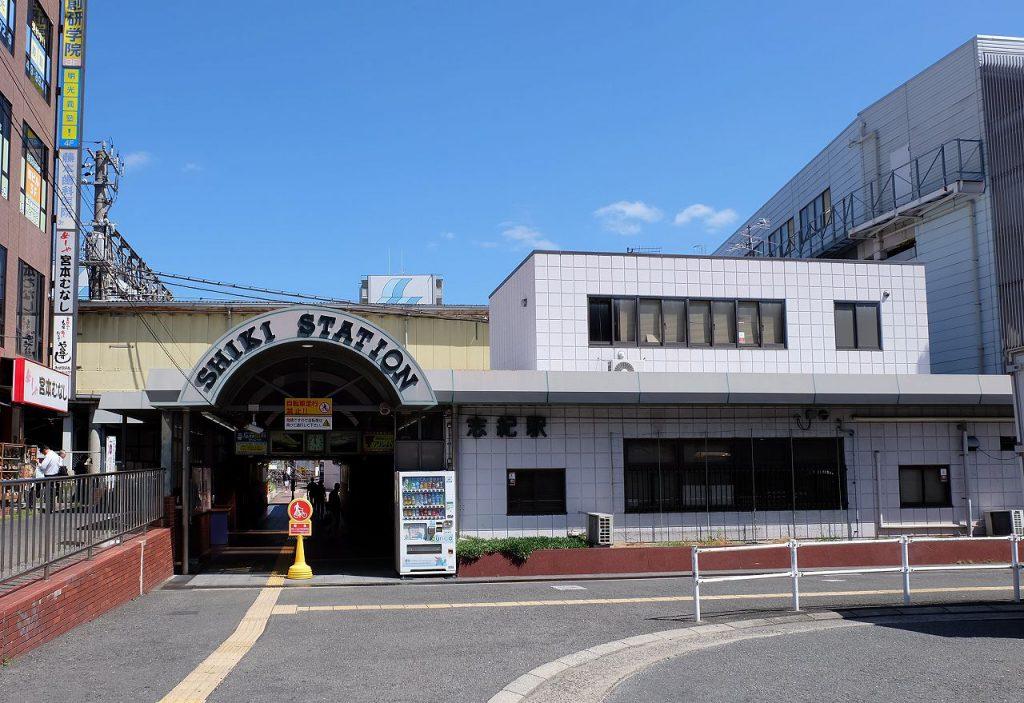 志紀駅の画像です