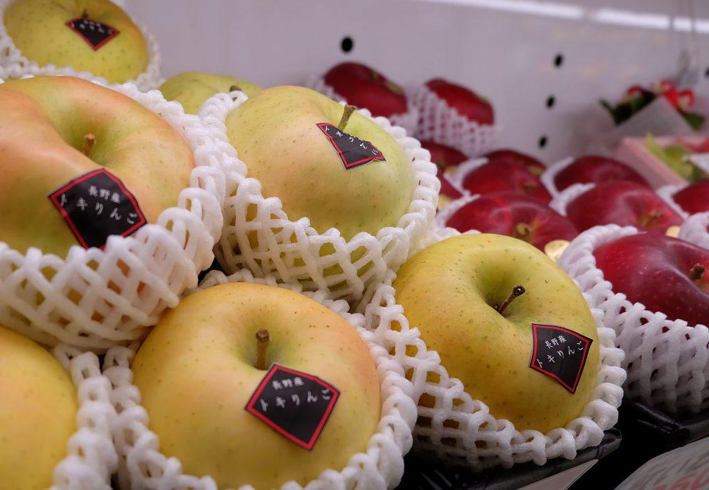 リンゴの画像です