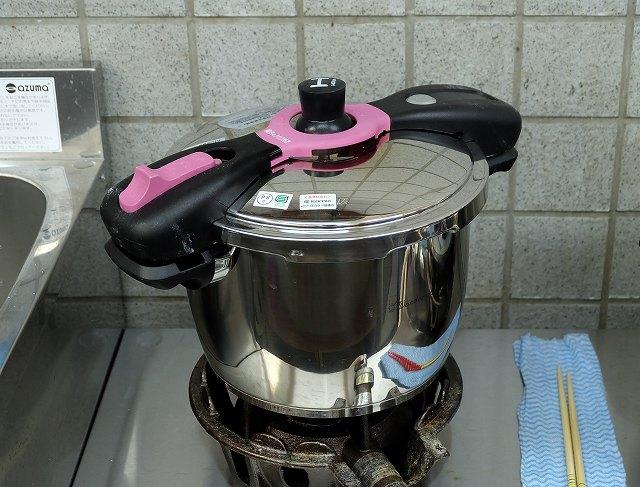 圧力鍋の画像です