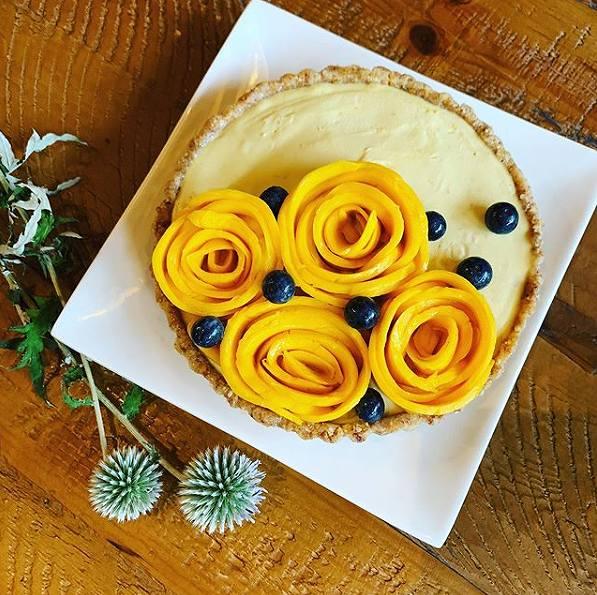 マンゴーケーキの画像です