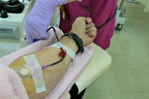献血の画像です