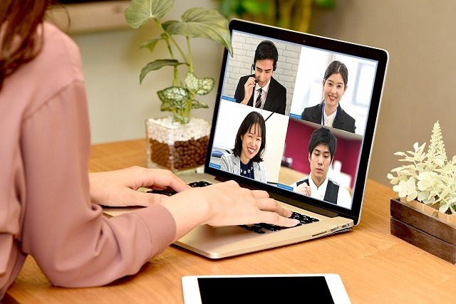 Web会議の画像です