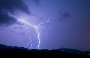 雷の画像です