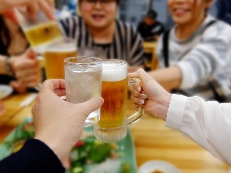 飲み会のイメージ画像です