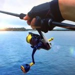 釣りをしている画像です