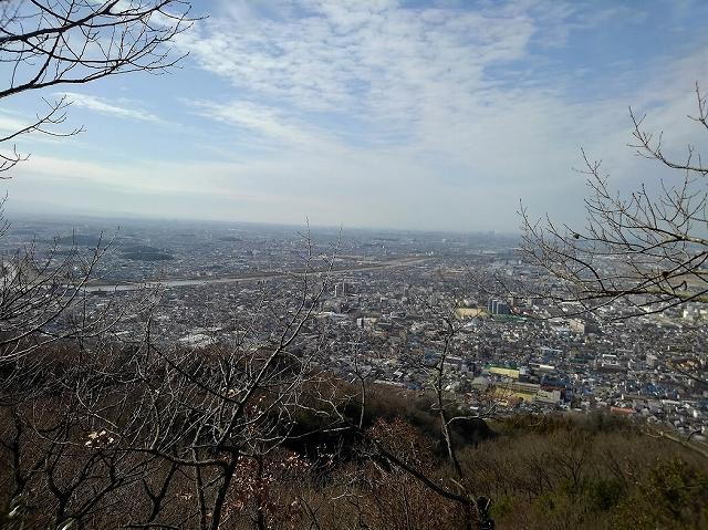頂上からの眺めです