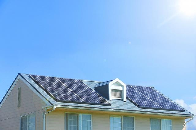 ソーラーパネルの画像です